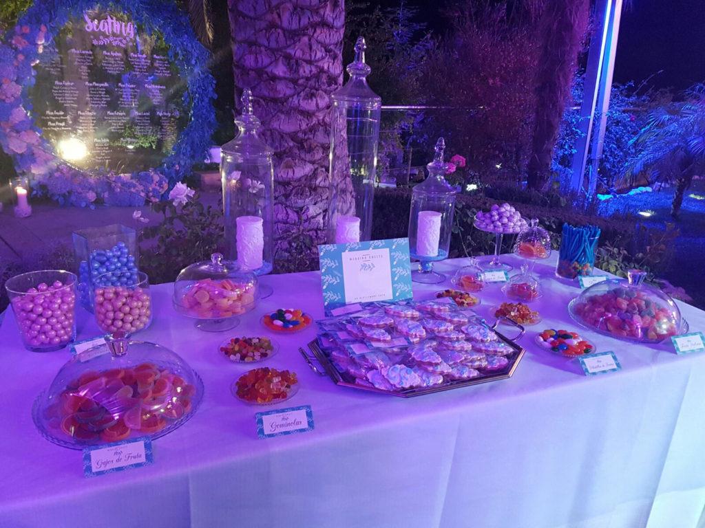 Mesa dulce para bodas y celebraciones