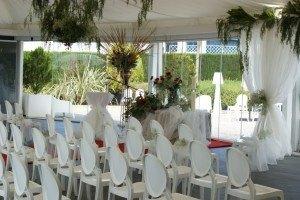 Celebración boda civil en carpa, Petrer(Alicante)