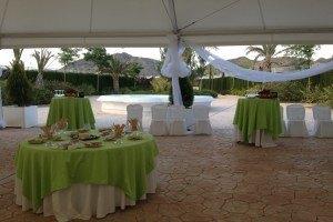 Cocktail de bienvenida para bodas Petrer(Alicante)