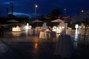 Salón Juanjo cocktail de bienvenida boda